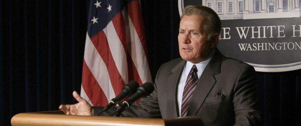 """PHOTO: Martin Sheen in a scene from """"The West Wing."""""""