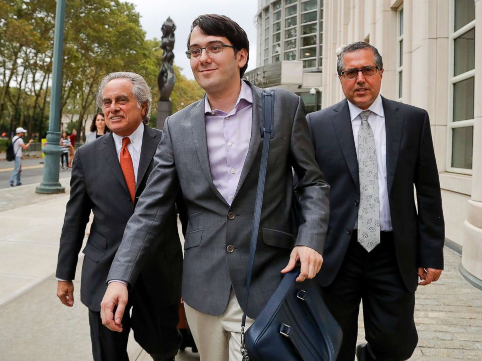 Hearing set on if USA will seize assets of 'Pharma Bro'