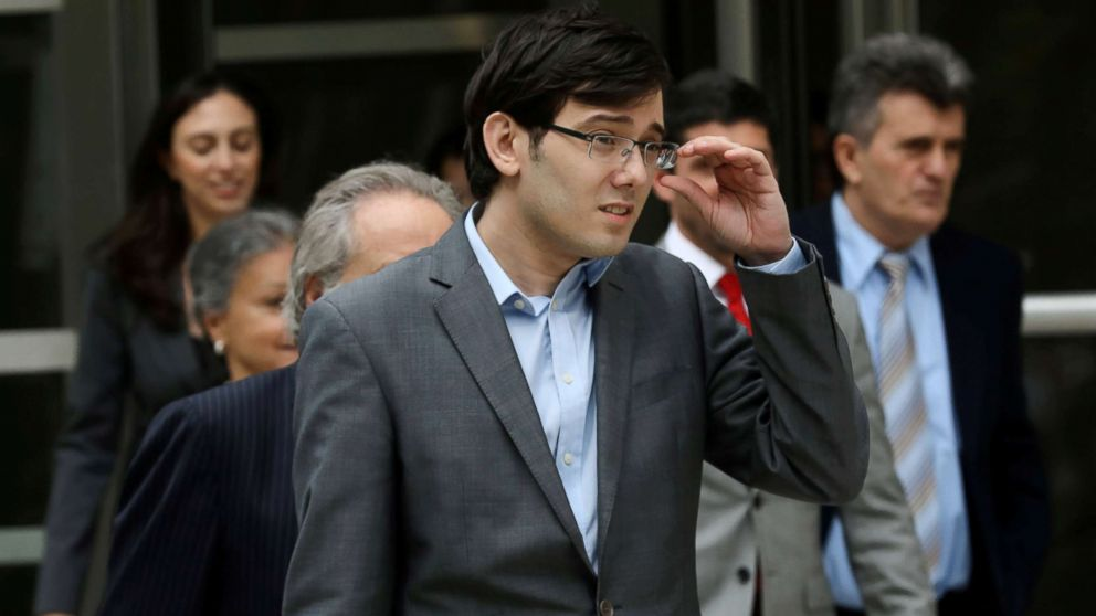 Judge rejects Shkreli request for prison release