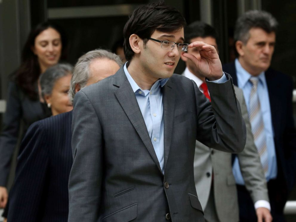 PHOTO: Former drug company executive Martin Shkreli exits the U.S. District Court in Brooklyn, New York, July 28, 2017.