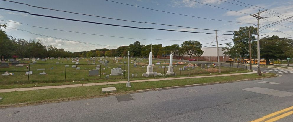 PHOTO: Mt. Zion Cemetery in Landsdowne, Maryland is pictured in this Google Maps image.