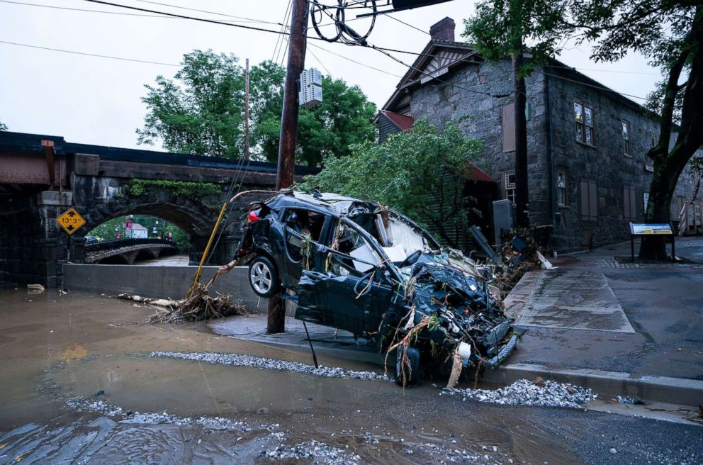 National Guardsman missing after flash flooding devastates ...