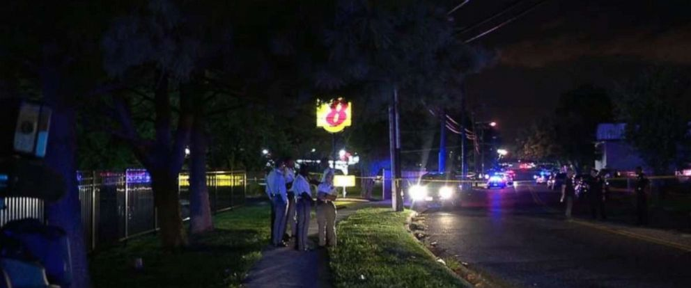 PHOTO: Seven people were shot at a 2-year-olds birthday party in Camp Springs, Md., on Saturday night, Aug. 24, 2019.