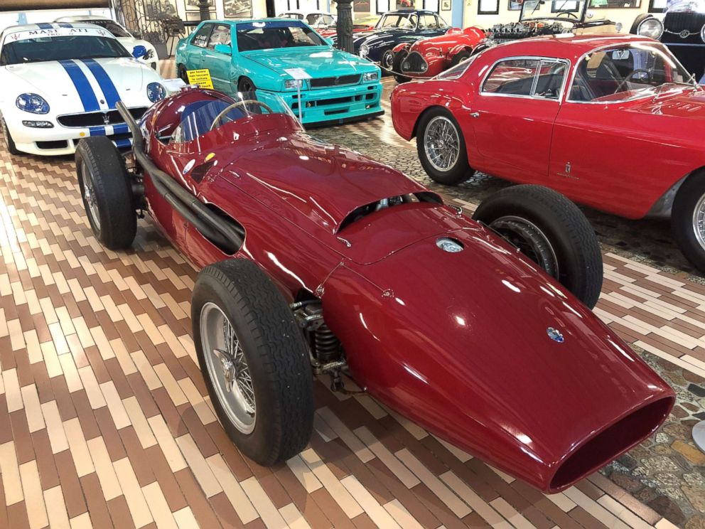 PHOTO: Only one V12 250F race car was produced and it was a prototype for Juan Manuel Fangio, a five-time Formula 1 champion.