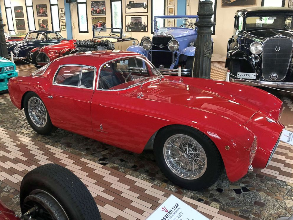 PHOTO: The A6GCS 53 Berlinetta designed by Pininfarina, the Italian coach builder, is one of the most valuable cars in the collection.