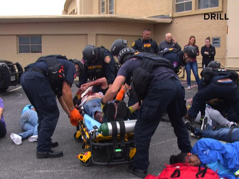 Inside one of Texas' largest mass casualty drills where