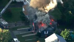 1 killed 12 injured in fires explosions after suspected gas leak