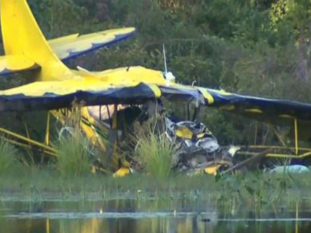 The pilot of a small plane died one day after a crash in Hanson, Mass., on Aug. 24, 2018. The pilot was reportedly spreading his fathers ashes.