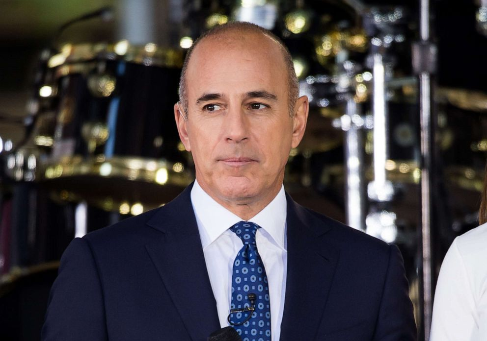 PHOTO: Matt Lauer attends NBCs Today at Rockefeller Plaza, Sept. 29, 2017, in New York City.