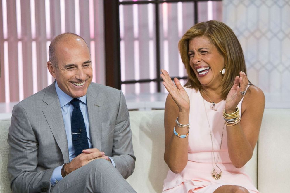 PHOTO: The Today Show with Matt Lauer and Hoda Kotb, Aug. 9, 2017.