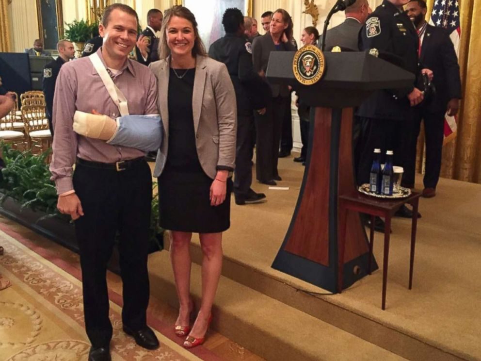 PHOTO: Matt Mika, left, is pictured with his girlfriend Kristi Boswell.