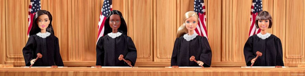 PHOTO: Judge Barbie from Mattel