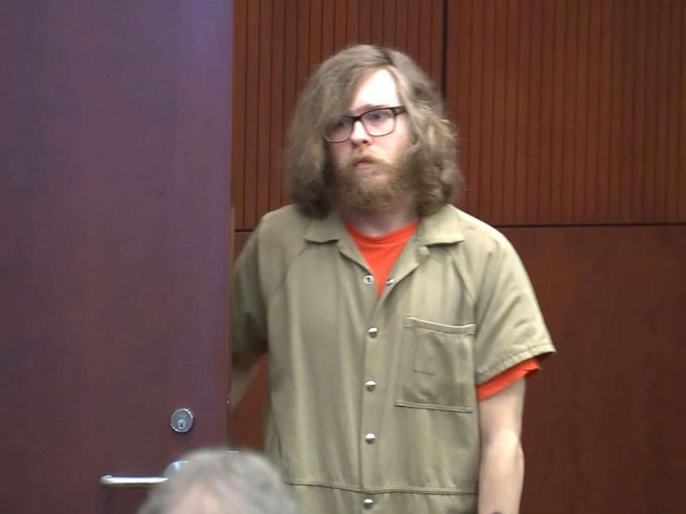 PHOTO: Matthew Phelps pleaded guilty to first-degree murder for the death of his 29-year-old wife in a courtroom, Oct. 5, 2018 in Wake County, N.C.