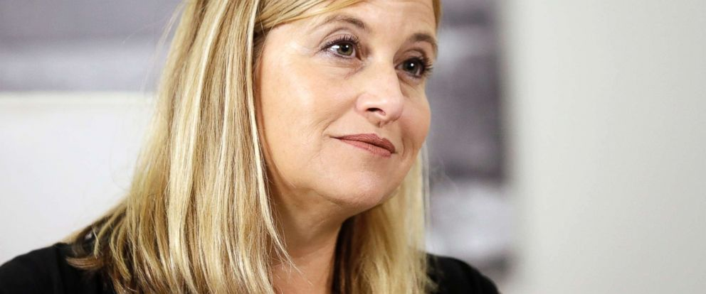 PHOTO: Nashville Mayor Megan Barry during a news conference in her office, Aug. 7, 2017, in Nashville, Tenn.