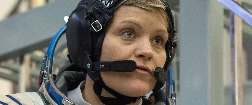 PHOTO: NASA astronaut Anne McClain, a member of the International Space Station (ISS) expedition 58/59, attends her final exam at the Gagarin Cosmonauts Training Centre in Star City outside of Moscow, Nov. 14, 2018.