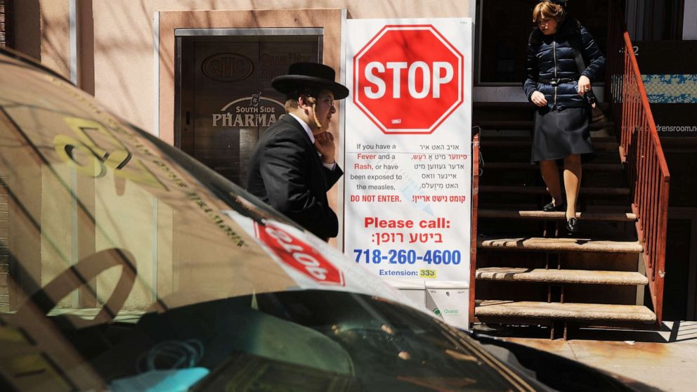 New York City issues fines of $1,000 to 3 people who refused to be vaccinated against measles