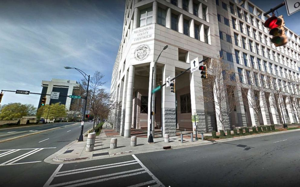 PHOTO: The Mecklenburg County Courthouse in Charlotte, N.C.