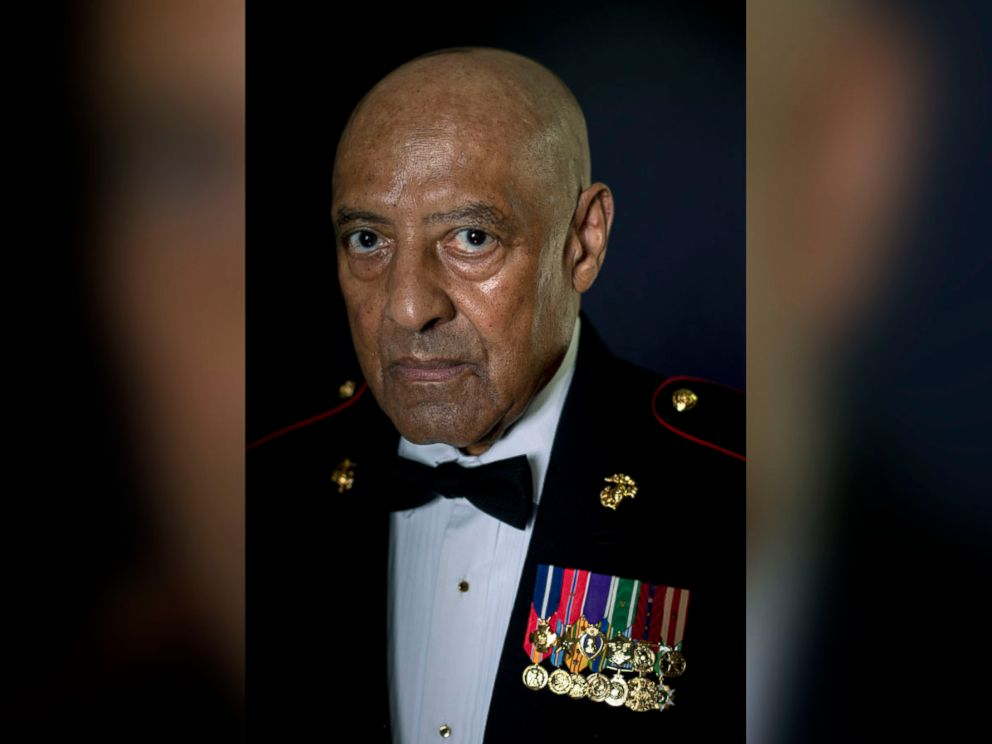 PHOTO: A portrait of retired Sgt Maj. John L. Canley, July 9, 2018.