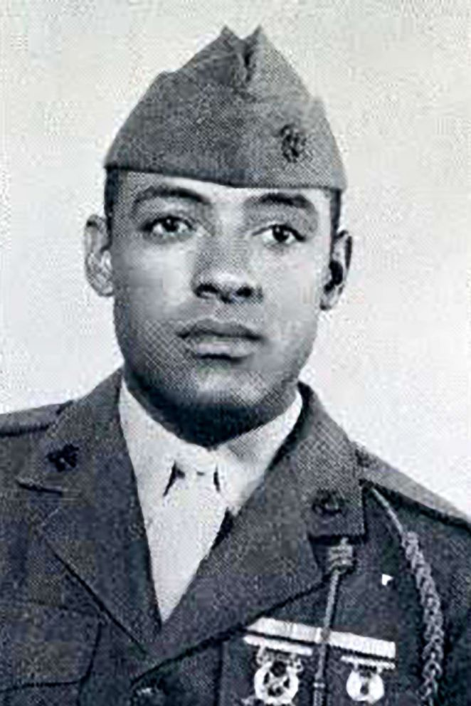 PHOTO: Sergeant Major John Canley, a Marine, served in the Vietnam War.