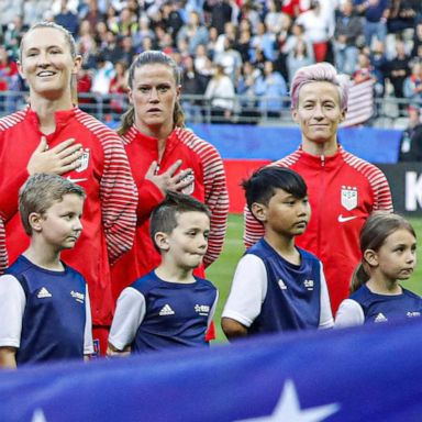 Why US soccer star Megan Rapinoe doesn't sing the national