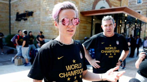 NYPD investigating vandalism of Megan Rapinoe posters in NYC as possible hate crime