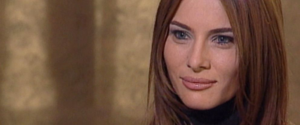 PHOTO: The future Melania Trump in a 1999 interview with ABC News correspondent Don Dahler.