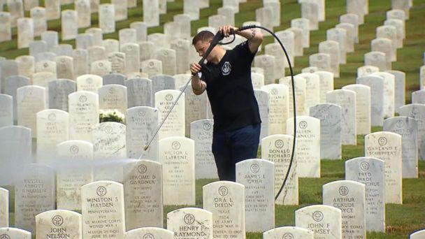 Veteran has helped clean thousands of military headstones in honor of Memorial Day