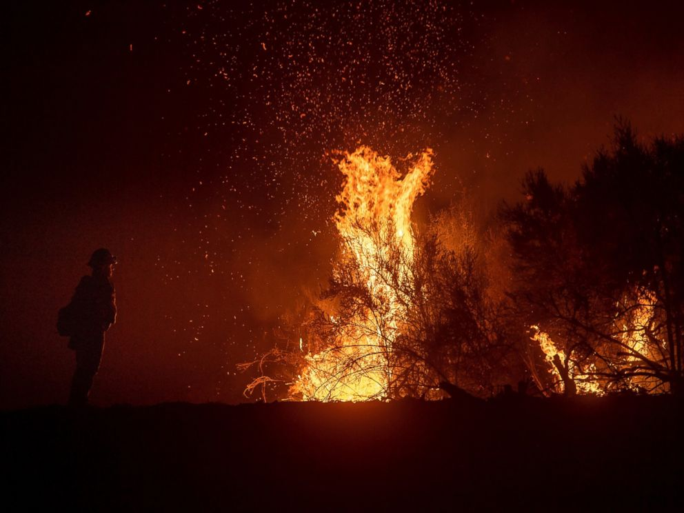 Firefighter killed battling largest blaze in California history