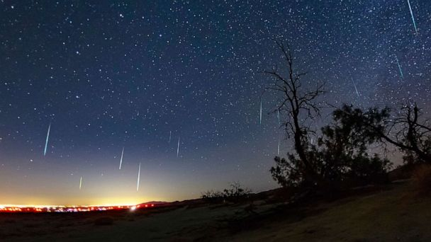 Back-to-back meteor showers make this a great week for stargazing