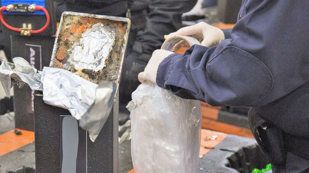 Authorities seize record-setting 1 7 tons of meth worth $1 29