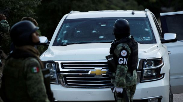 Multiple people arrested in deadly ambush of 9 Americans in Mexico, authorities say