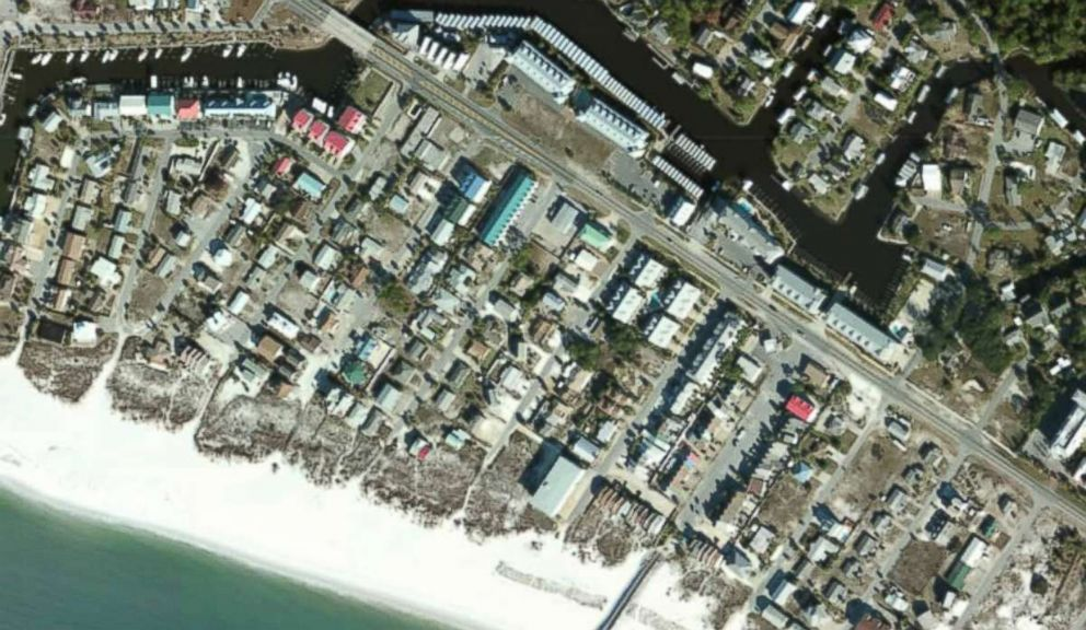 PHOTO: Mexico Beach, Fla., seen before Hurricane Michael, in this image released by NOAA.