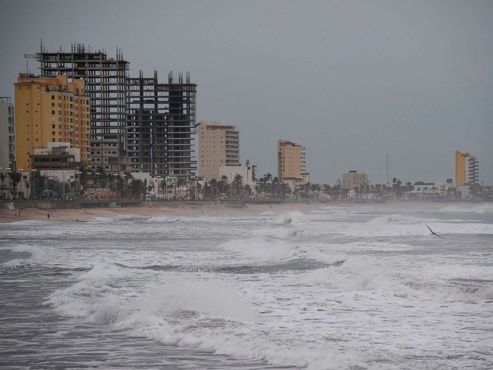 PHOTO: General view of the Malecon (boardwalk) in Mazatlan, Sinaloa, Mexico, on Oct. 22, 2018, before the arrival of Hurricane Willa.