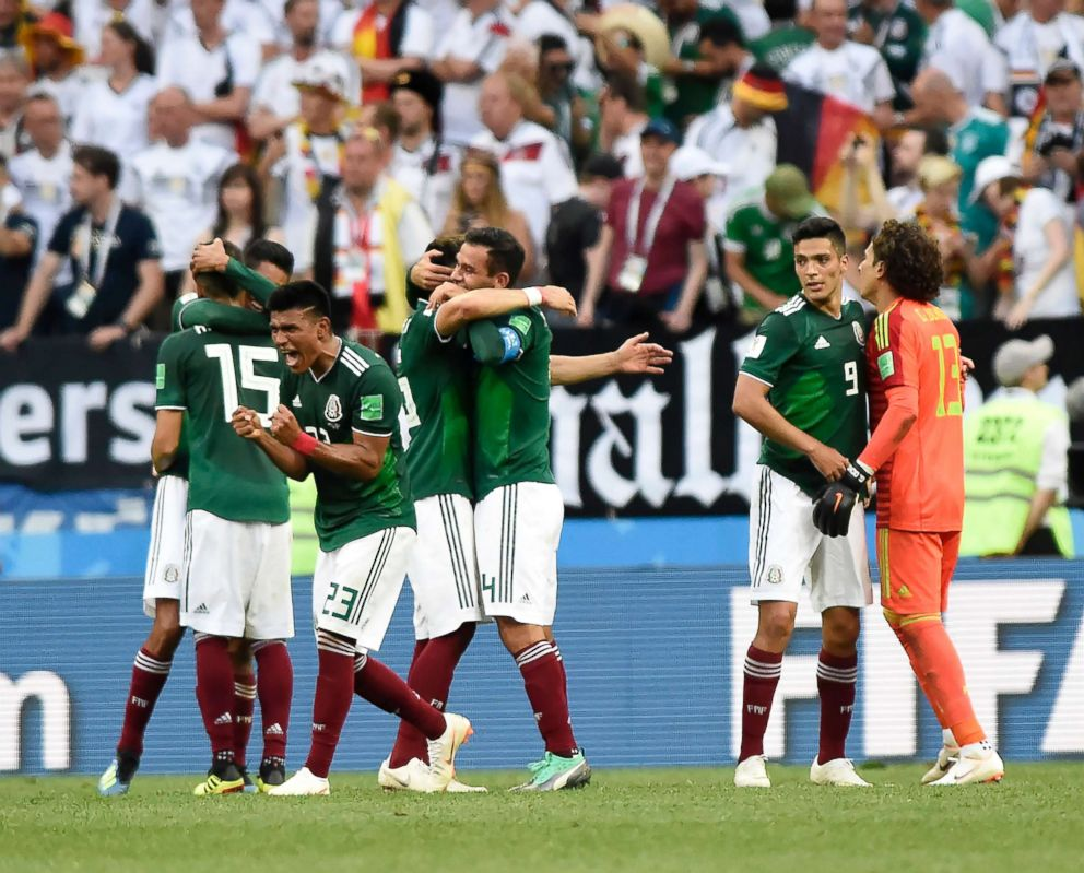 sale retailer 9a1df 6727c Mexican World Cup fans' 'massive jumps' may have set off ...