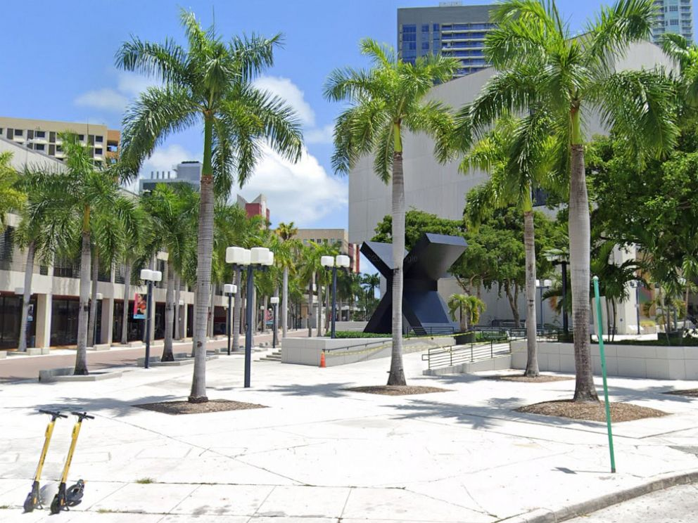 PHOTO: Part of the Miami-Dade College campus is visible in a Google Maps Street View image dated April 2019.