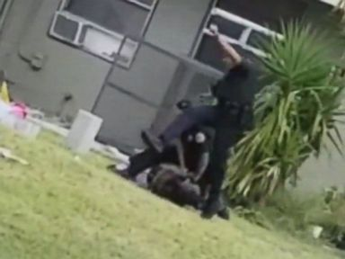 Miami cop charged after allegedly kicking car thief suspect in the head