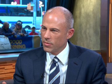 PHOTO: Michael Avenatti appears on Good Morning America, May 9, 2018.