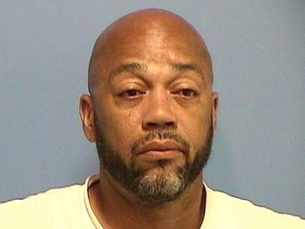 PHOTO: Michael Heads in a police booking photo.