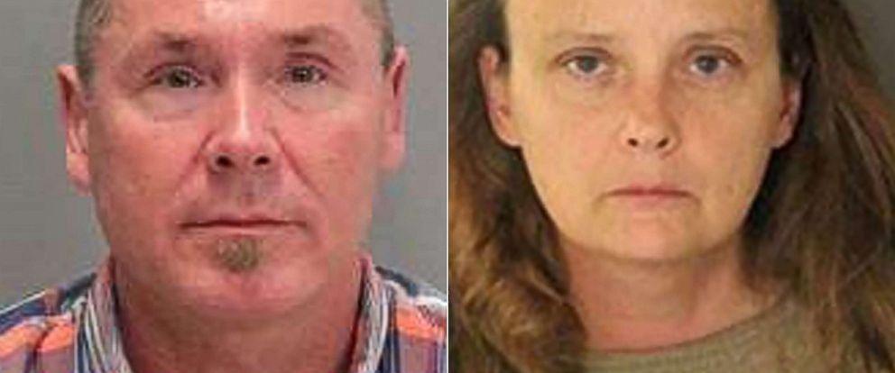 PHOTO: Police issued mugshots of suspects Michael Kellar and Gail Burnworth.