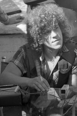 PHOTO: Michael Lang, chief promoter of the Woodstock Rock Festival