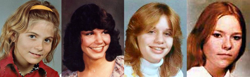 PHOTO: Missing cold cases in Michigan, from left to right, Kimberly King, Kellie Brownlee, Kim Larrow, Nadine ODell.