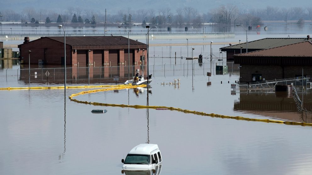 Floods turn deadly across several US states as rains continue through  weekend