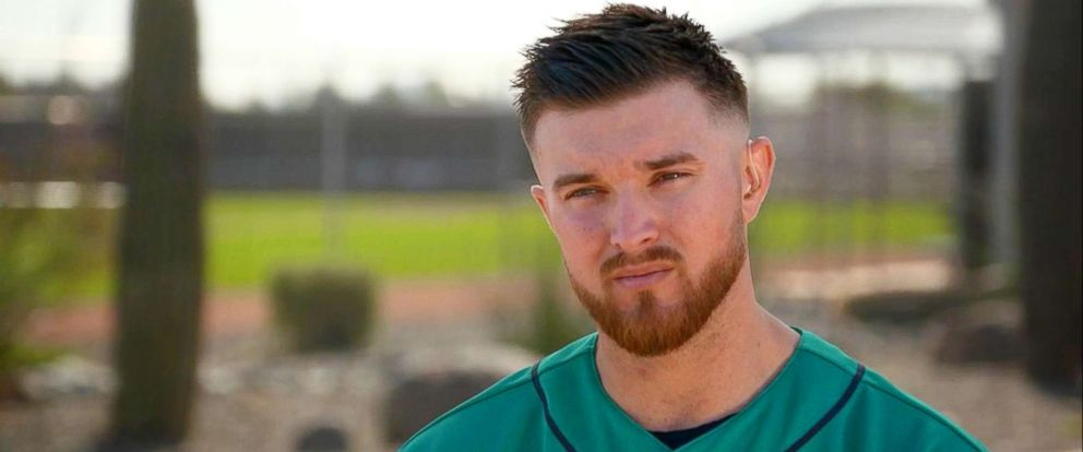 PHOTO: Mike Marjama, a catcher for the Seattle Mariners, opened up about his struggles with an eating disorder in an interview with ABC News Paula Faris.