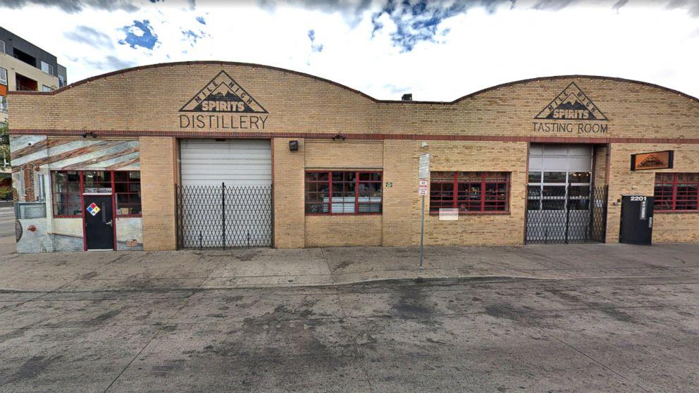 An FBI agent did a back-flip and his gun fell out at Mile High Spirits bar near downtown Denver, June 4, 2018.