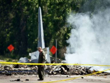 Police release 911 calls from deadly military plane crash