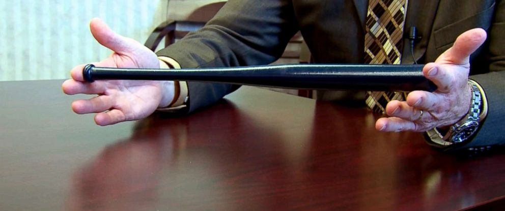 PHOTO: The Millcreek School District has placed small baseball bats in its classrooms.
