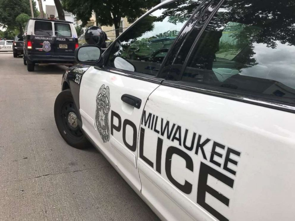 PHOTO: Milwaukee Police are on the scene of a critical incident where an officer was shot. Suspect is in custody. Media is to stage on 27th and North Ave for escort to 6:30 pm briefing location.