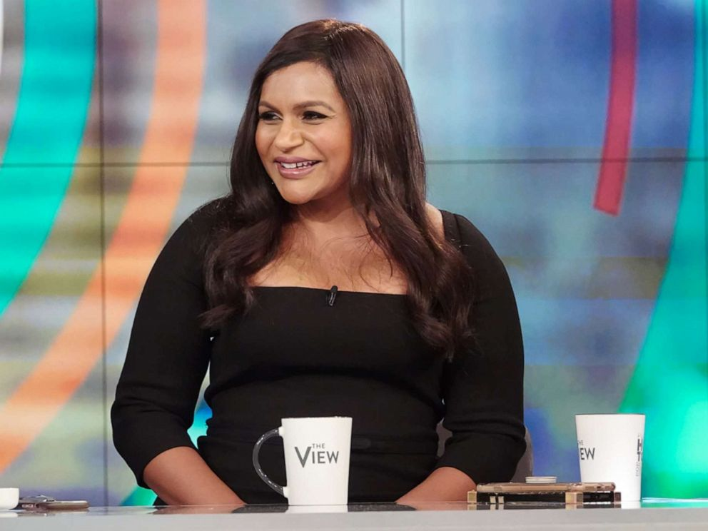 PHOTO: Mindy Kaling joins The View on Friday, June 7, 2019.