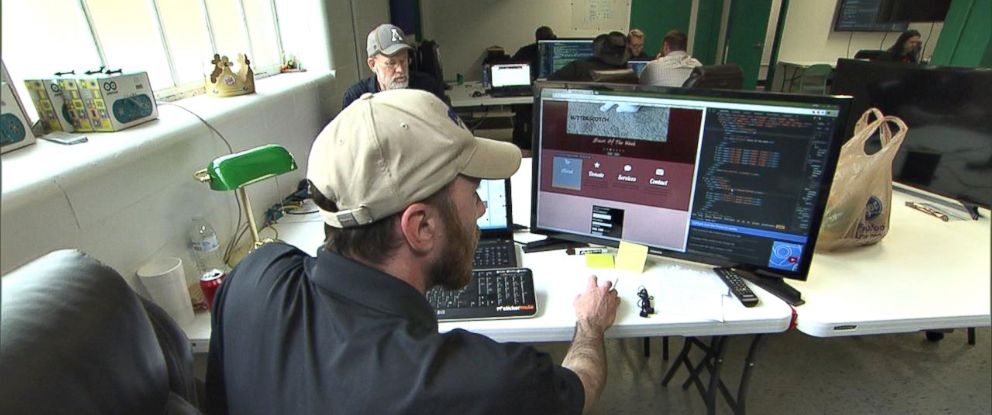 PHOTO: Mined Minds involves an intensive 32-week boot camp, in which people are taught how to code.