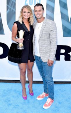 PHOTO: Miranda Lambert and Brendan McLoughlin attend the 13th Annual ACM Honors at Ryman Auditorium on August 21, 2019 in Nashville, Tennessee.